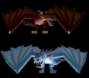 ドラゴン mod マイクラ